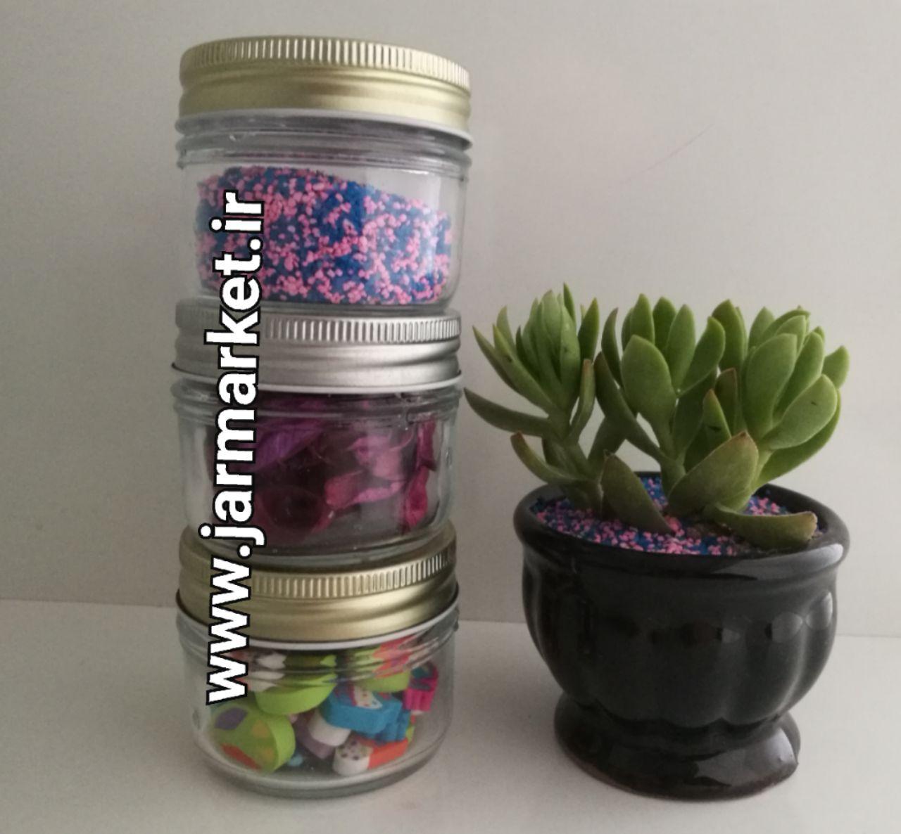خرید جار شیشه ای با حجم و ظرفیت متنوع