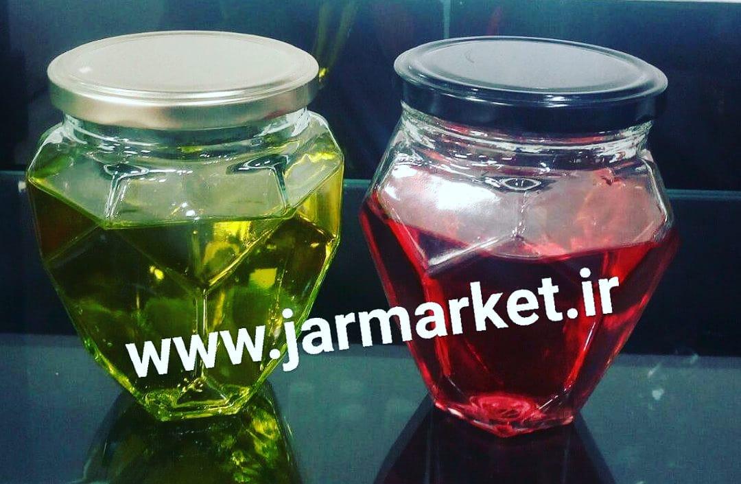 قیمت جار شیشه ای نیم کیلویی در انواع مختلف