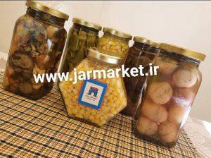 فروش انواع جار شیشه ای اصفهان