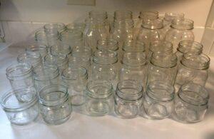 انواع جار شیشه ای یک کیلویی