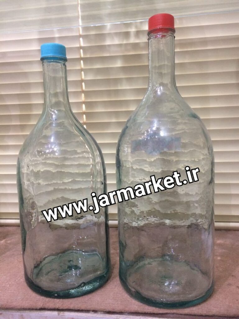 بازار خرید بطری شیشه ای دو لیتری | بطری شیشه ای بزرگ