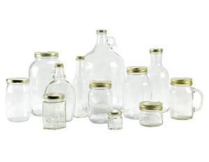 قیمت ظروف بسته بندی جار شیشه ای و قیمت ظروف بسته بندی بطری شیشه ای