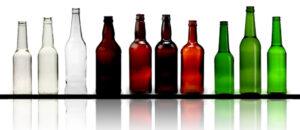 تولید بطری شیشه ای استوانه ای