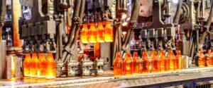 تولید بطری شیشه ای