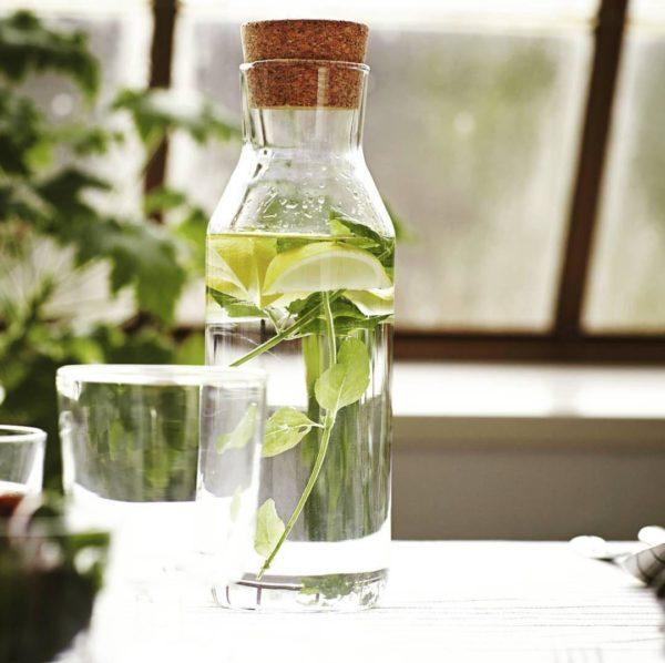 خرید بطری شیشه ای با درب چوب پنبه
