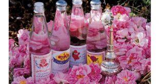 بطری شیشه ای گلاب